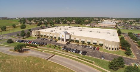 Sprint building that received commercial ac services in Edmond, OK.