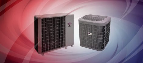 hvac heating ventilation air conditioning company that services Carrier products.