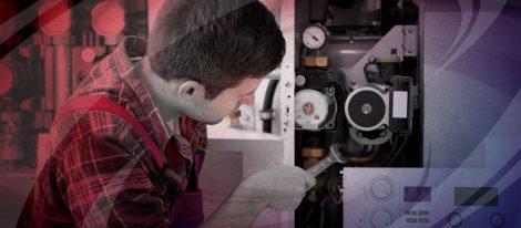 HVAC technician providing furnace repair in Edmond, OK