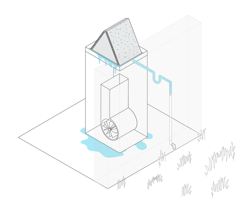 AC drain line diagram in Edmond, OK