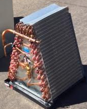 Evaporator coil found in a central AC in Edmond, OK